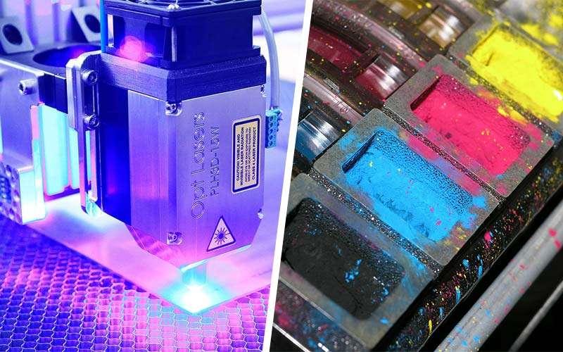 Laser Code Printer Vs Inkjet Printer